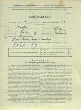 Popis prebivalstva 31. 3. 1931<br />Ljubljana<br />Cerkvena ulica 17<br />Population census 31 March 1931