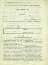 Popis prebivalstva 31. 3. 1931<br />Ljubljana<br />Cerkvena ulica 0<br />Population census 31 March 1931