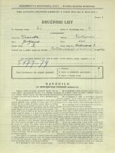Popis prebivalstva 31. 3. 1931<br />Ljubljana<br />Cerkvena ulica 3<br />Population census 31 March 1931