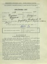 Popis prebivalstva 31. 3. 1931<br />Ljubljana<br />Černetova ulica 26<br />Population census 31 March 1931
