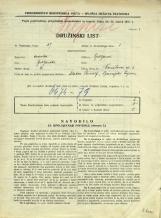 Popis prebivalstva 31. 3. 1931<br />Ljubljana<br />Černetova ulica 3<br />Population census 31 March 1931