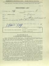 Popis prebivalstva 31. 3. 1931<br />Ljubljana<br />Cesta dveh cesarjev 10<br />Population census 31 March 1931