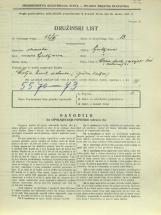 Popis prebivalstva 31. 3. 1931<br />Ljubljana<br />Cesta dveh cesarjev 101<br />Population census 31 March 1931