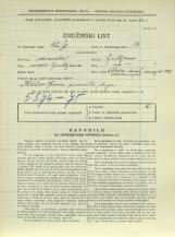 Popis prebivalstva 31. 3. 1931<br />Ljubljana<br />Cesta dveh cesarjev 103<br />Population census 31 March 1931