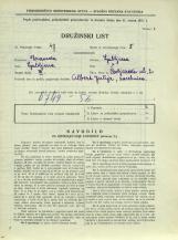Popis prebivalstva 31. 3. 1931<br />Ljubljana<br />Čevljarska ulica 2<br />Population census 31 March 1931