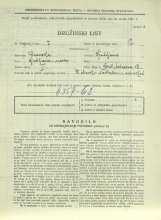 Popis prebivalstva 31. 3. 1931<br />Ljubljana<br />Ciril Metodova ulica 18<br />Population census 31 March 1931