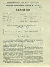 Popis prebivalstva 31. 3. 1931<br />Ljubljana<br />Črna vas 15<br />Population census 31 March 1931