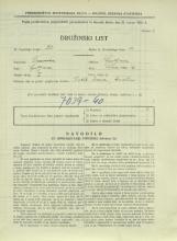 Popis prebivalstva 31. 3. 1931<br />Ljubljana<br />Črna vas 16<br />Population census 31 March 1931