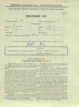 Popis prebivalstva 31. 3. 1931<br />Ljubljana<br />Črna vas 19<br />Population census 31 March 1931