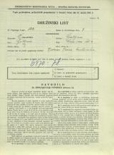 Popis prebivalstva 31. 3. 1931<br />Ljubljana<br />Črna vas 2<br />Population census 31 March 1931