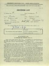 Popis prebivalstva 31. 3. 1931<br />Ljubljana<br />Dalmatinova ulica 3<br />Population census 31 March 1931