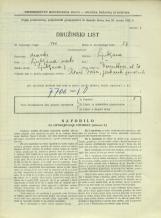 Popis prebivalstva 31. 3. 1931<br />Ljubljana<br />Dermotova ulica 26<br />Population census 31 March 1931