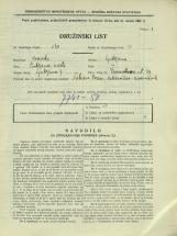 Popis prebivalstva 31. 3. 1931<br />Ljubljana<br />Dermotova ulica 29<br />Population census 31 March 1931
