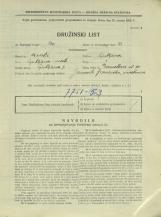 Popis prebivalstva 31. 3. 1931<br />Ljubljana<br />Dermotova ulica 30<br />Population census 31 March 1931