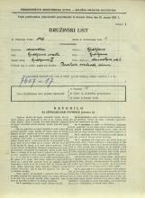 Popis prebivalstva 31. 3. 1931<br />Ljubljana<br />Dermotova ulica 6<br />Population census 31 March 1931