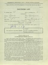 Popis prebivalstva 31. 3. 1931<br />Ljubljana<br />Devinska ulica 5<br />Population census 31 March 1931
