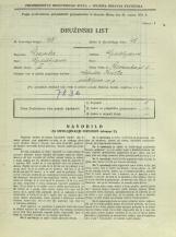 Popis prebivalstva 31. 3. 1931<br />Ljubljana<br />Devinska ulica 8<br />Population census 31 March 1931