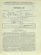 Popis prebivalstva 31. 3. 1931<br />Ljubljana<br />Dobrilova ulica 12<br />Population census 31 March 1931