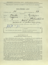 Popis prebivalstva 31. 3. 1931<br />Ljubljana<br />Dolenjska cesta 10<br />Population census 31 March 1931