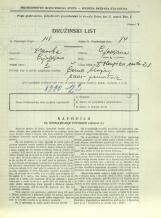 Popis prebivalstva 31. 3. 1931<br />Ljubljana<br />Dolenjska cesta 2 28<br />Population census 31 March 1931