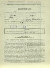 Popis prebivalstva 31. 3. 1931<br />Ljubljana<br />Dolenjska cesta 2 72<br />Population census 31 March 1931