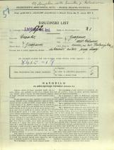 Popis prebivalstva 31. 3. 1931<br />Ljubljana<br />Dolenjska cesta 2 2<br />Population census 31 March 1931