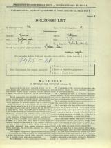 Popis prebivalstva 31. 3. 1931<br />Ljubljana<br />Dolinska steza 2<br />Population census 31 March 1931