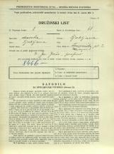 Popis prebivalstva 31. 3. 1931<br />Ljubljana<br />Dolničarjeva ulica 2<br />Population census 31 March 1931