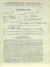 Popis prebivalstva 31. 3. 1931<br />Ljubljana<br />Dolničarjeva ulica 4<br />Population census 31 March 1931