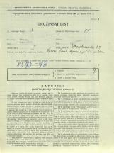 Popis prebivalstva 31. 3. 1931<br />Ljubljana<br />Domobranska cesta 23<br />Population census 31 March 1931
