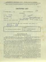 Popis prebivalstva 31. 3. 1931<br />Ljubljana<br />Domobranska cesta 7<br />Population census 31 March 1931