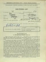 Popis prebivalstva 31. 3. 1931<br />Ljubljana<br />Dunajska cesta 10<br />Population census 31 March 1931
