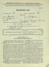 Popis prebivalstva 31. 3. 1931<br />Ljubljana<br />Dunajska cesta 129<br />Population census 31 March 1931