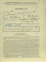 Popis prebivalstva 31. 3. 1931<br />Ljubljana<br />Dunajska cesta 13<br />Population census 31 March 1931