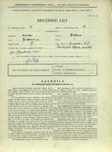 Popis prebivalstva 31. 3. 1931<br />Ljubljana<br />Dunajska cesta 29<br />Population census 31 March 1931
