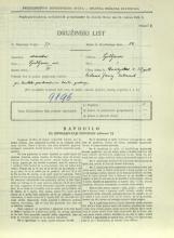 Popis prebivalstva 31. 3. 1931<br />Ljubljana<br />Dunajska cesta 38<br />Population census 31 March 1931