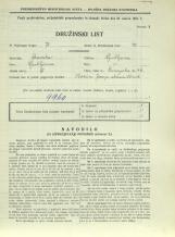 Popis prebivalstva 31. 3. 1931<br />Ljubljana<br />Dunajska cesta 46<br />Population census 31 March 1931