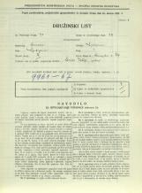 Popis prebivalstva 31. 3. 1931<br />Ljubljana<br />Dunajska cesta 47<br />Population census 31 March 1931