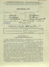 Popis prebivalstva 31. 3. 1931<br />Ljubljana<br />Dunajska cesta 64<br />Population census 31 March 1931