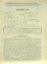 Popis prebivalstva 31. 3. 1931<br />Ljubljana<br />Dunajska cesta 65<br />Population census 31 March 1931