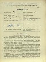 Popis prebivalstva 31. 3. 1931<br />Ljubljana<br />Einspielerjeva ulica 15<br />Population census 31 March 1931
