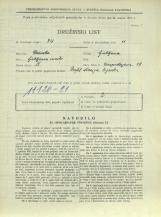 Popis prebivalstva 31. 3. 1931<br />Ljubljana<br />Einspielerjeva ulica 18<br />Population census 31 March 1931
