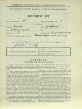 Popis prebivalstva 31. 3. 1931<br />Ljubljana<br />Einspielerjeva ulica 19<br />Population census 31 March 1931