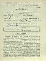 Popis prebivalstva 31. 3. 1931<br />Ljubljana<br />Einspielerjeva ulica 21<br />Population census 31 March 1931