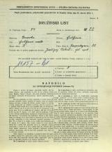 Popis prebivalstva 31. 3. 1931<br />Ljubljana<br />Einspielerjeva ulica 22<br />Population census 31 March 1931
