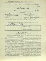 Popis prebivalstva 31. 3. 1931<br />Ljubljana<br />Einspielerjeva ulica 27<br />Population census 31 March 1931