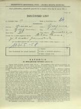 Popis prebivalstva 31. 3. 1931<br />Ljubljana<br />Emonska cesta 10<br />Population census 31 March 1931
