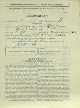 Popis prebivalstva 31. 3. 1931<br />Ljubljana<br />Emonska cesta 6<br />Population census 31 March 1931