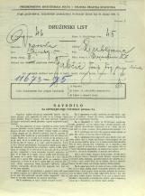 Popis prebivalstva 31. 3. 1931<br />Ljubljana<br />Erjavčeva cesta 27<br />Population census 31 March 1931