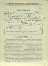 Popis prebivalstva 31. 3. 1931<br />Ljubljana<br />Erjavčeva cesta 4<br />Population census 31 March 1931